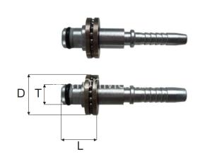schita adaptor fiting cu rulment